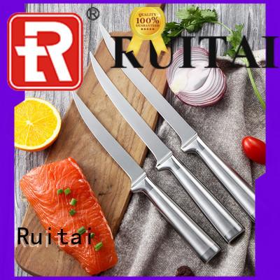 Ruitai kitchenaid professional chef knife kit supply for slicing