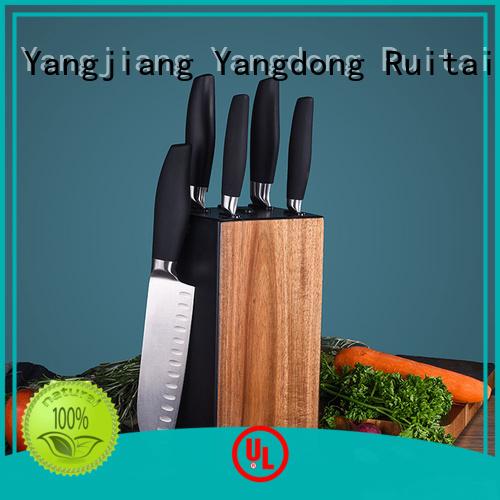 Custom best kitchen knife block set sale manufacturers for cook