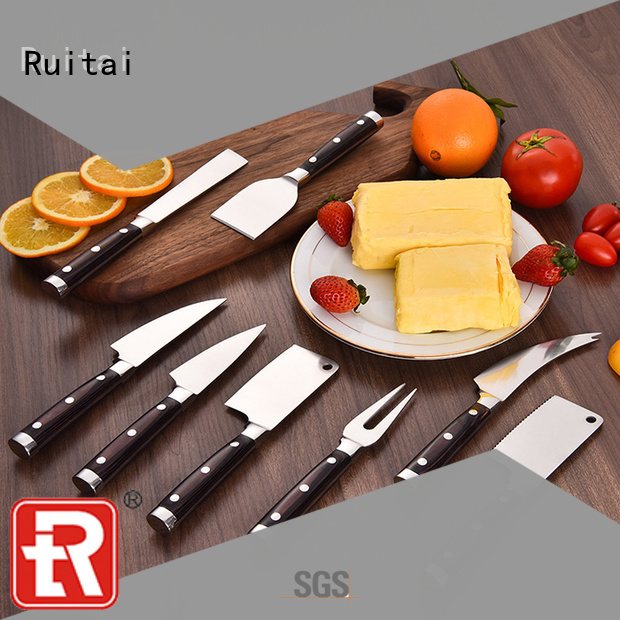 Wholesale cheese board gift set with cheese steel for business