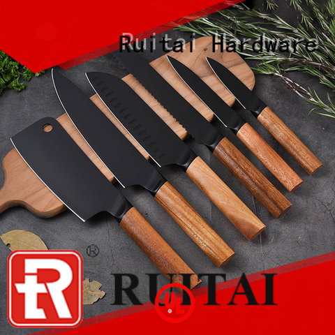 Ruitai k103606t case kitchen knives for business for kitchen