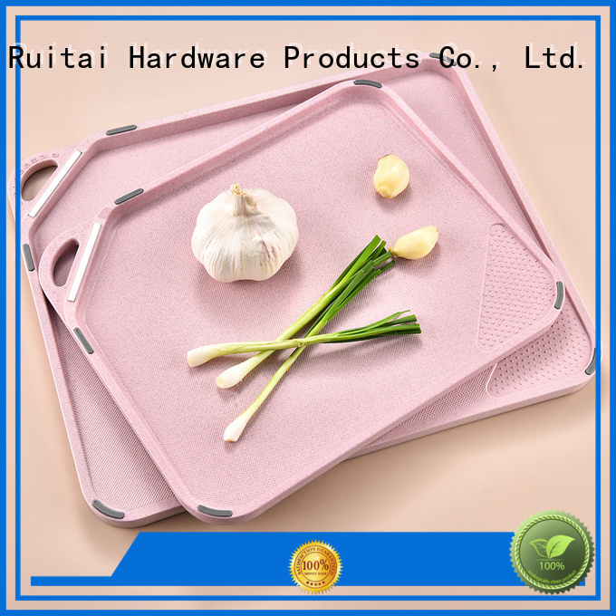 Ruitai large plastic chopping board suppliers for kitchen