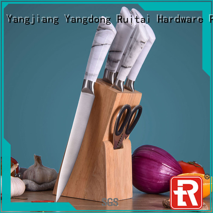 Custom best value knife block set professional factory for kitchen