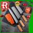 Top best brand knife block set gm160503t suppliers for cook