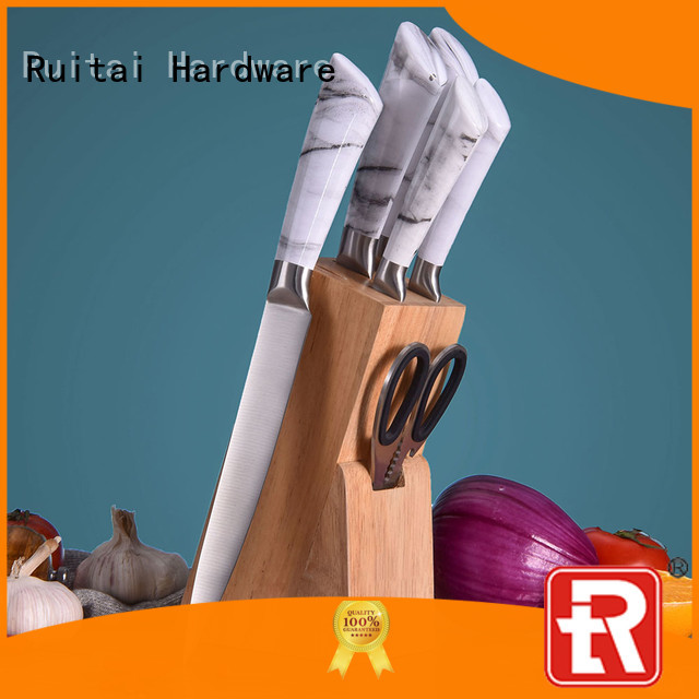 Ruitai x5cr15mov kitchenware knife set for business for mincing