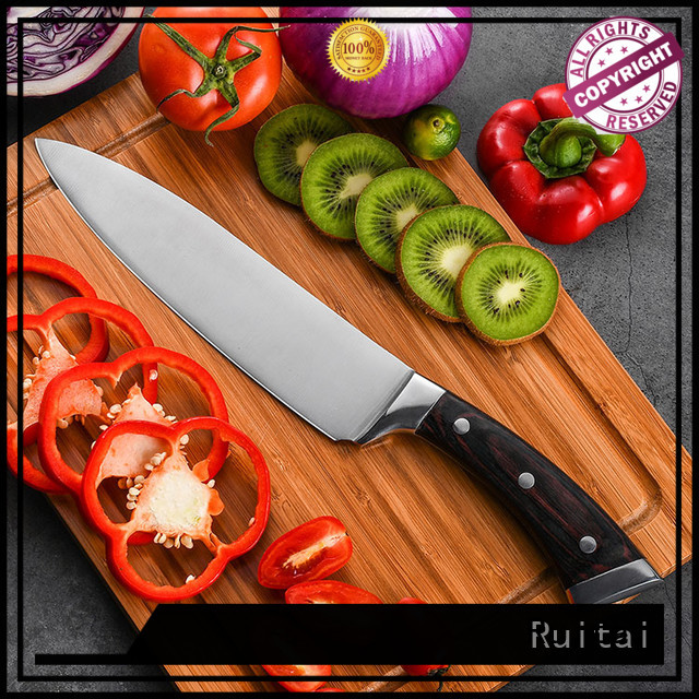Ruitai forged top ten kitchen knives manufacturers for chef
