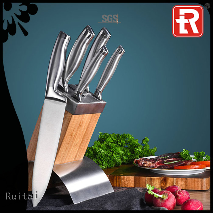 Ruitai New best value kitchen knife set company for slicing