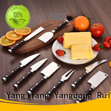 High-quality designer cheese knives goldenrose suppliers for cook