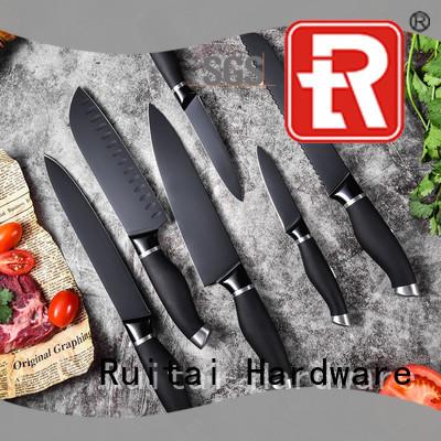 Wholesale best value kitchen knife set sale factory for slicing