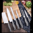 New the best cutlery set hammered factory for kitchen