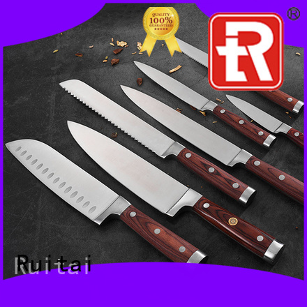Ruitai painted high quality cutlery set supply for cook