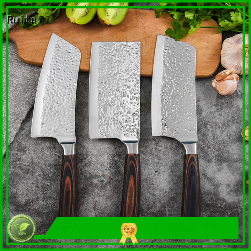 Custom good quality kitchen knife set pcs company for slicing