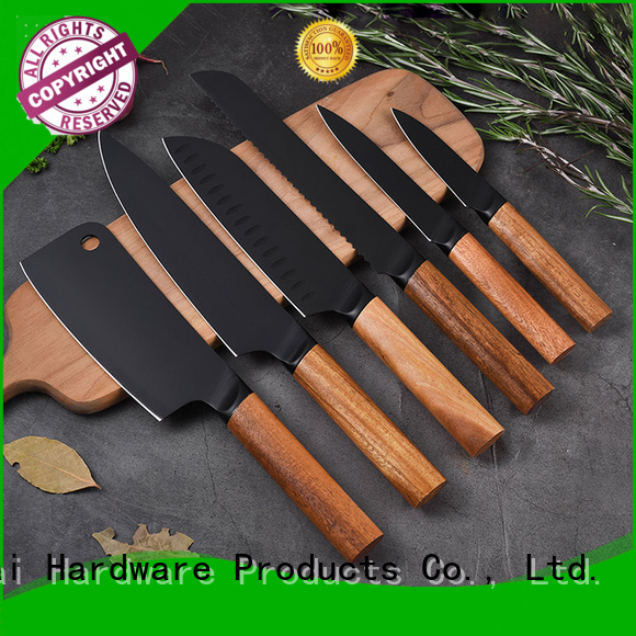 Latest white kitchen knife set mosaic manufacturers for slicing