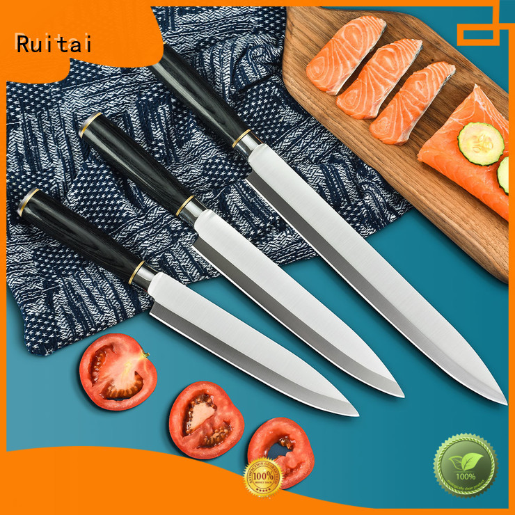 Ruitai global best kitchen cutlery set suppliers for chef