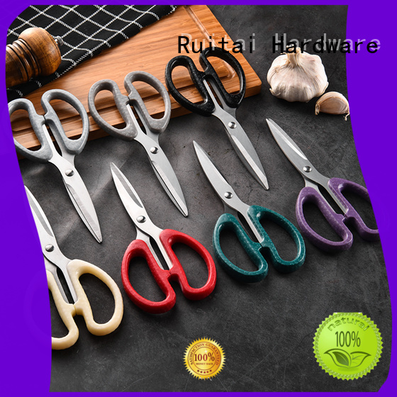 Ruitai Wholesale scotch kitchen scissors factory for chef