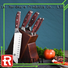 Wholesale good quality kitchen knife set color company for chef