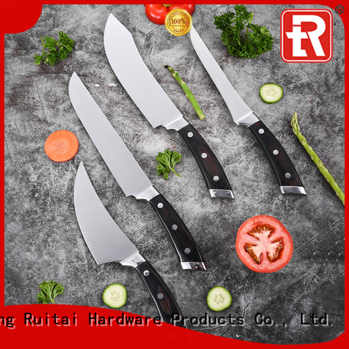 Latest a good set of kitchen knives blade suppliers for chef