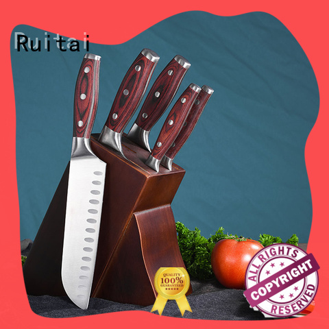 Ruitai painted chef cutlery set supply for chef