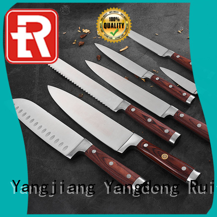 Ruitai High-quality complete kitchen knife set suppliers for slicing