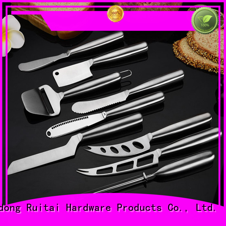 Ruitai Top knives for cheese plate factory for cutting cheese