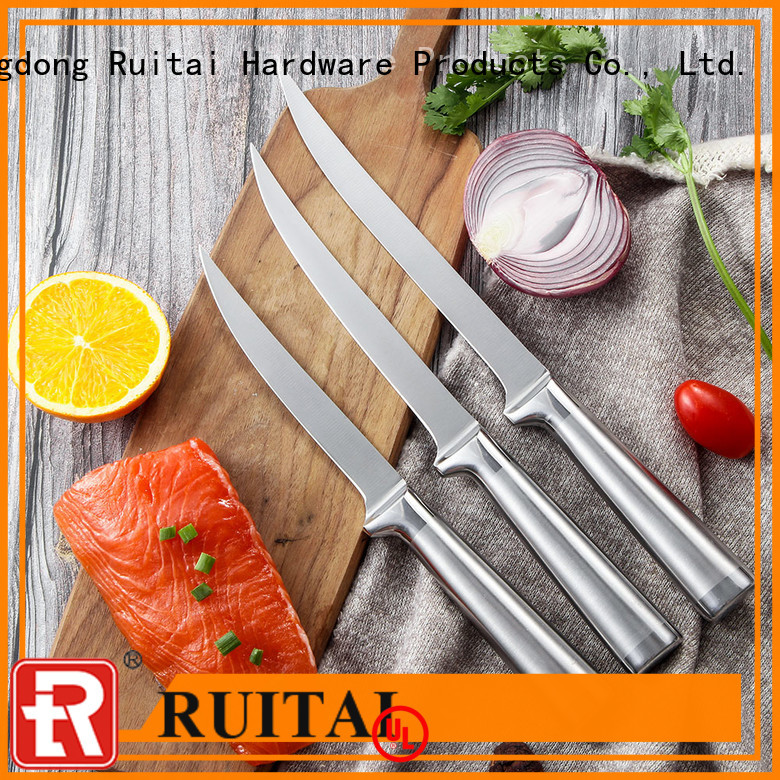 Best professional chef knife kit steel factory for cook