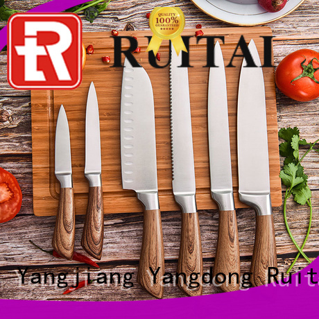 Latest kitchen knife and block set k1041 manufacturers for slicing