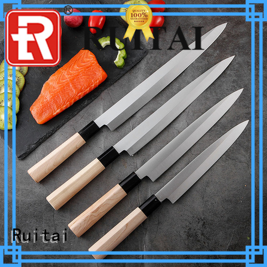 High-quality kitchen knives london maple factory for sashimi cutting