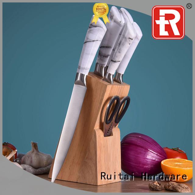 Ruitai Custom cooks knife block suppliers for chopping