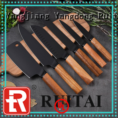Ruitai Latest best rated kitchen knife set company for chef