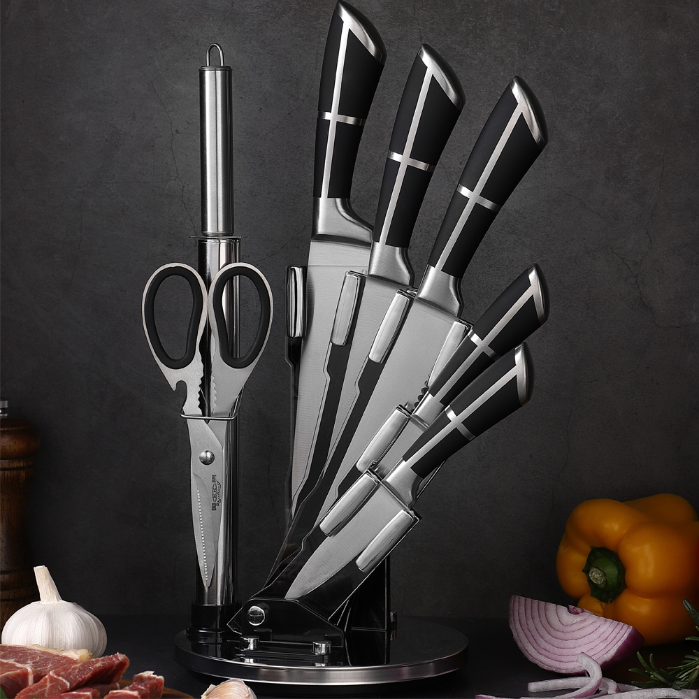 RUITAI l Custom Faishion Handle Chef Kitchen Knife Set K1041