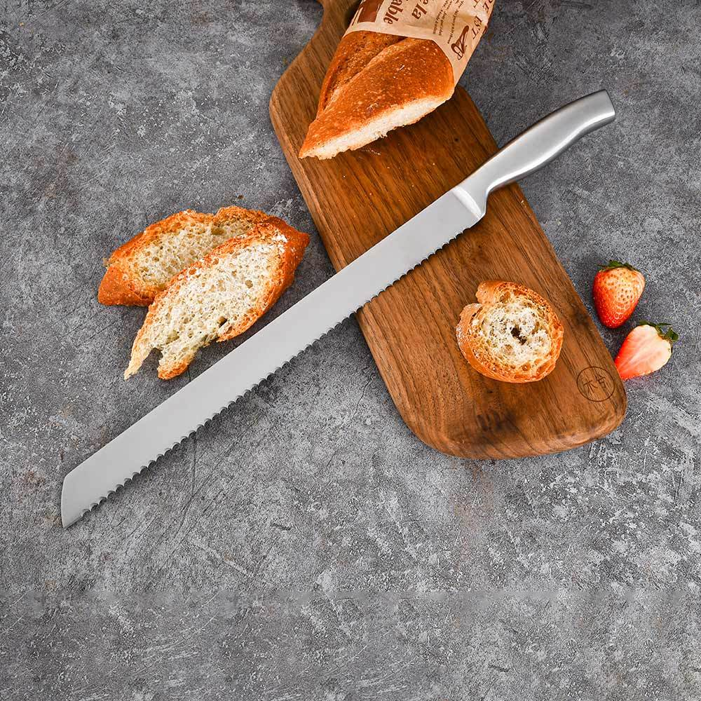 RUITAI 13Inch Serrated Bread Knife Toast Slicing Knives Cake Slicer Baking Pastry k1041+1678