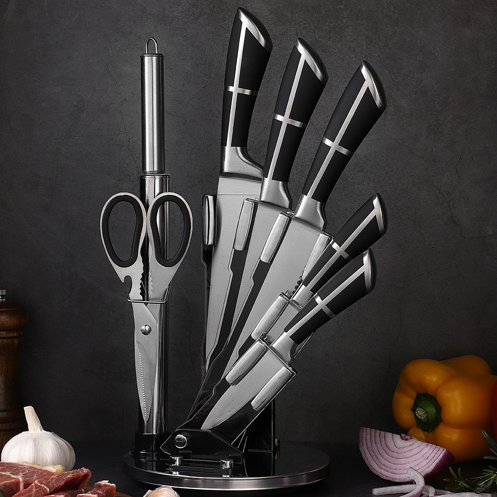 RUITAI l Custom Faishion Handle Chef Kitchen Knife Set K1041