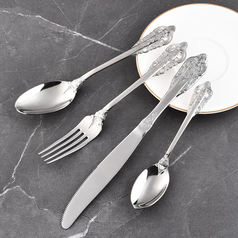 RUITAI Wholesale Premium Stainless Steel Cutlery Set Spoon Fork Knife