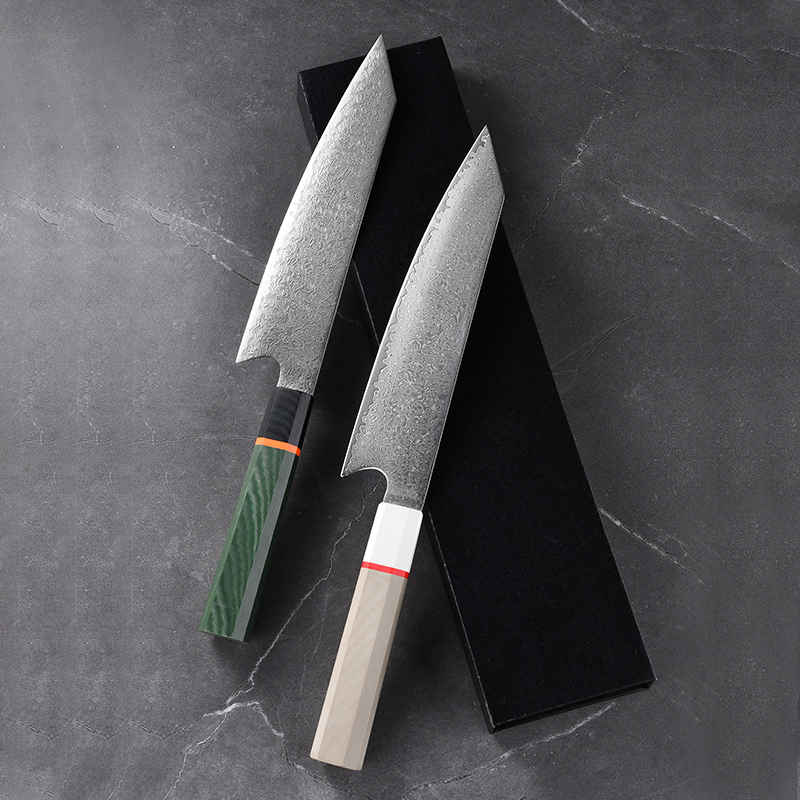 Professional Beauty Chef Top Choice 67 layer VG10 Damascus Steel Kiritsuke Knife With G10 Handle