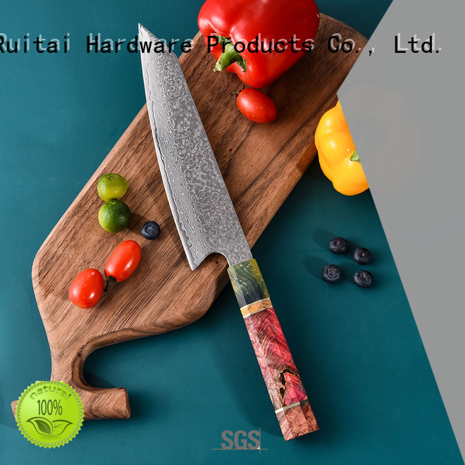 Custom damascus knife manufacturers for kitchen