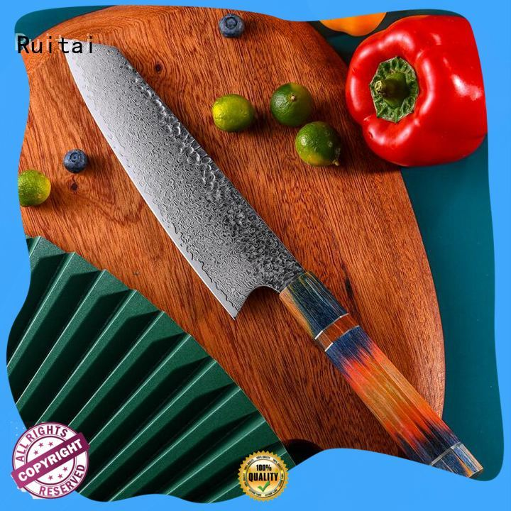 Top good quality chef knife set lightweight for business for slicing
